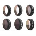 PGY 6 SET Filter for DJI Mavic Air (UV/CPL/ND4/ND8/ND16/ND32)