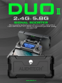 複製 Alientech 火星人 2.4G+5.8G DUO II Booster 圖傳升級天線 *For Mini2*